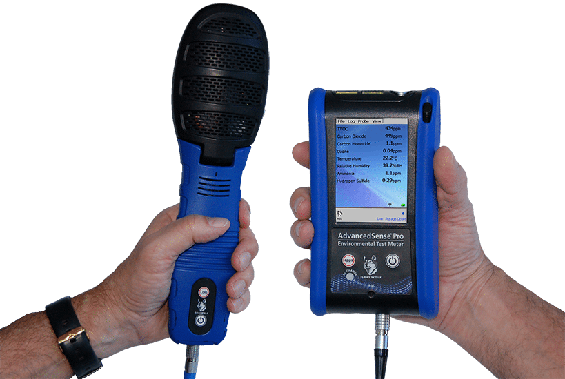 AdvancedSense PRO and DSII Multi Parameter Meter